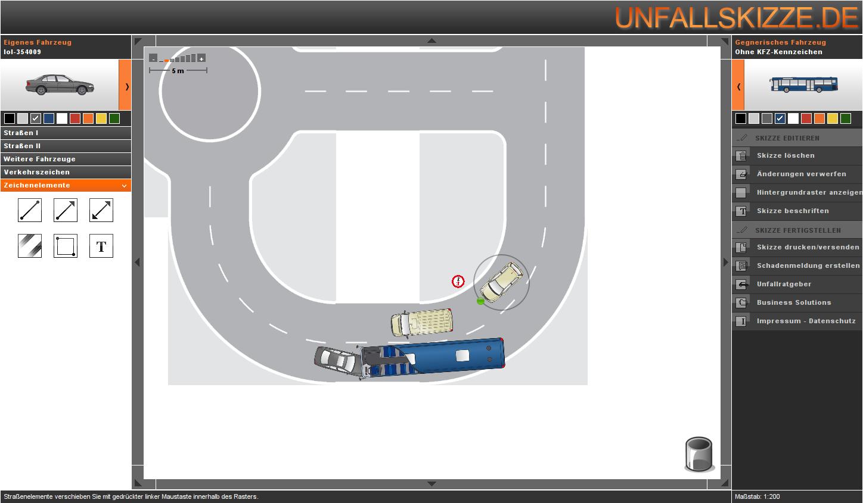 Unfallskizzen online erstellen – HerrSpitau.de
