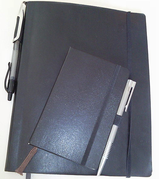 Meine beiden Notizbücher