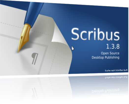 Scribus Splash-Screen