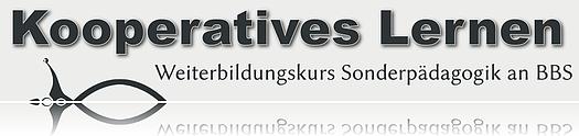 Weiterbildung Sonderpädagogik – Schwerpunkt Kooperatives Lernen