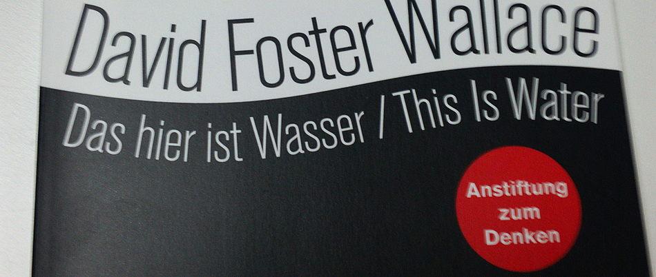 Gelesen: Das hier ist Wasser – David Foster Wallace