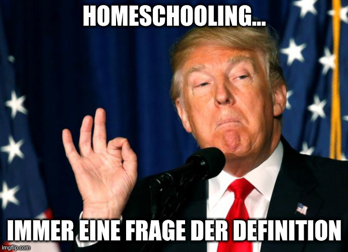 Nagut… Es ist eben doch Homeschooling!